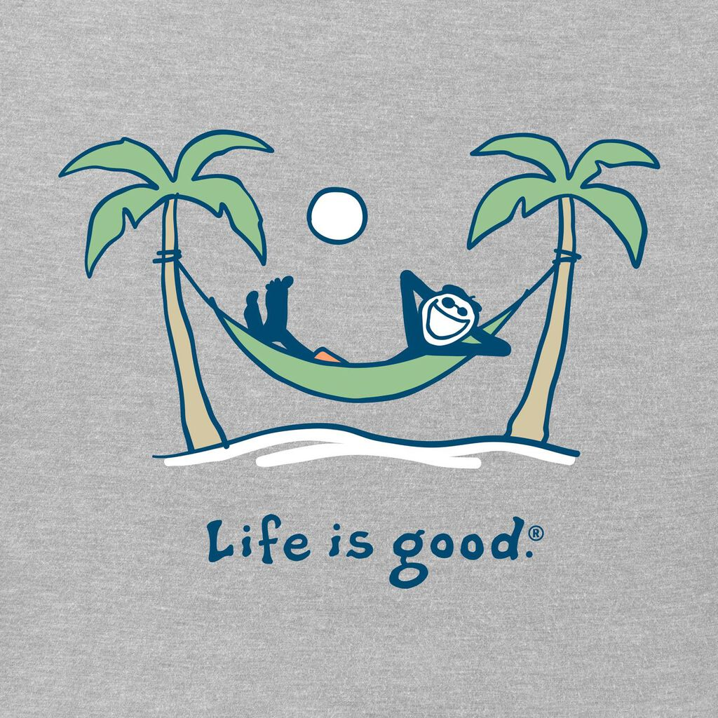 Life is Good Men's Hammock Jake T-Shirt