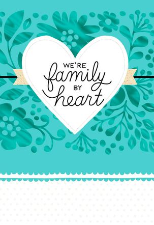 Family By Heart Mother's Day Card