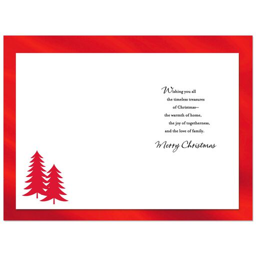 Joy And Love Christmas Card For Brother Family