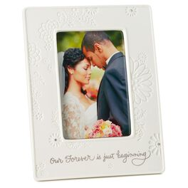 Our Forever Wedding Picture Frame, 4x6, , large