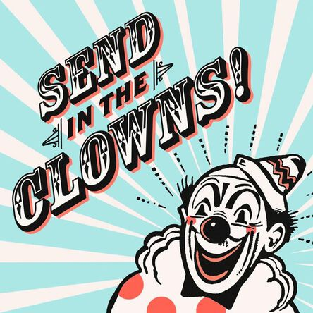 Send In The Clowns Birthday Card Greeting Cards Hallmark