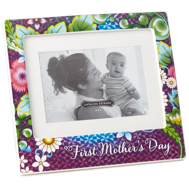 catalina estrada first mothers day picture frame 4x6 - Mothers Day Picture Frame