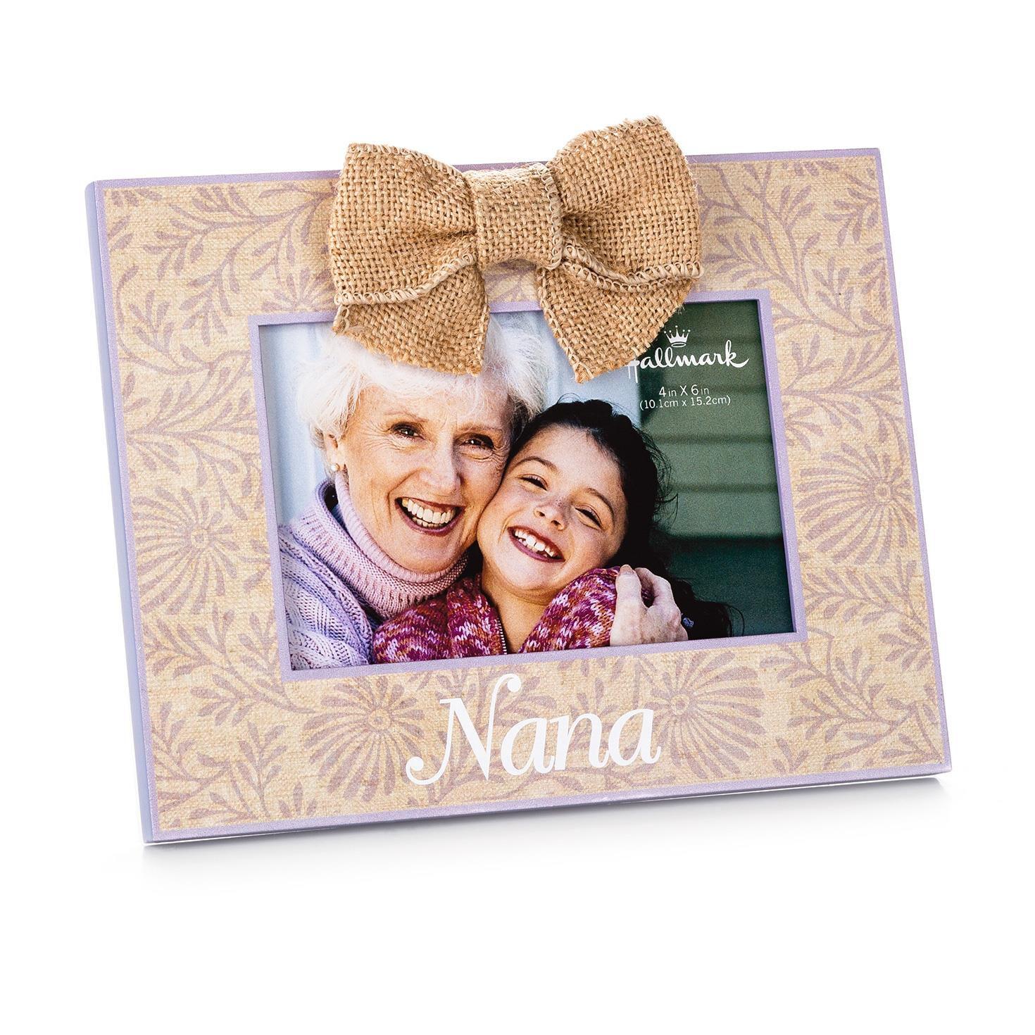 nana wood malden picture frame 4x6 picture frames hallmark