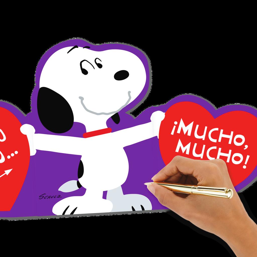 ... Peanuts® Snoopy Love You Lots Spanish-Language Valentine's Day ...