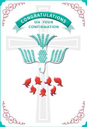 Dove Confirmation Card