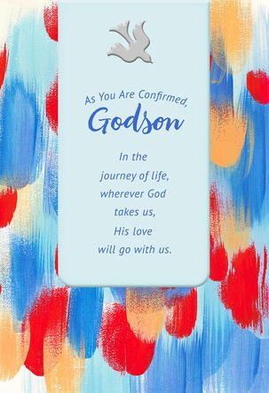 You Are a Gift From God Confirmation Card for Godson