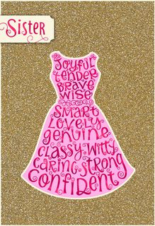 Smart, Classy, Confident Mother's Day Card for Sister,