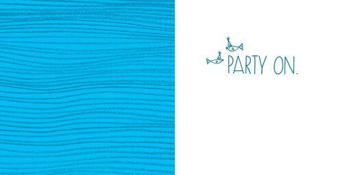 Shark Party Animal Birthday Card,