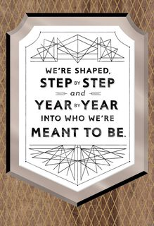 Who We're Meant to Be Bar Mitzvah Card,