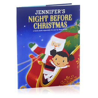 Night Before Christmas Personalized Book,
