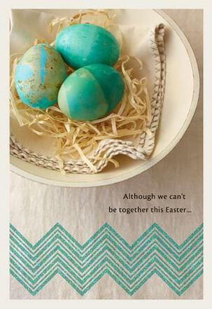 Across the Miles Easter Card