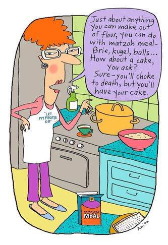 You can make anything with matzo meal passover card greeting cards you can make anything with matzo meal passover card m4hsunfo