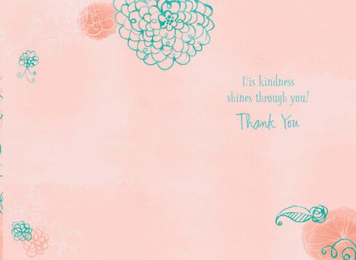 Selfless Serving Religious Thank You Card Greeting Cards Hallmark