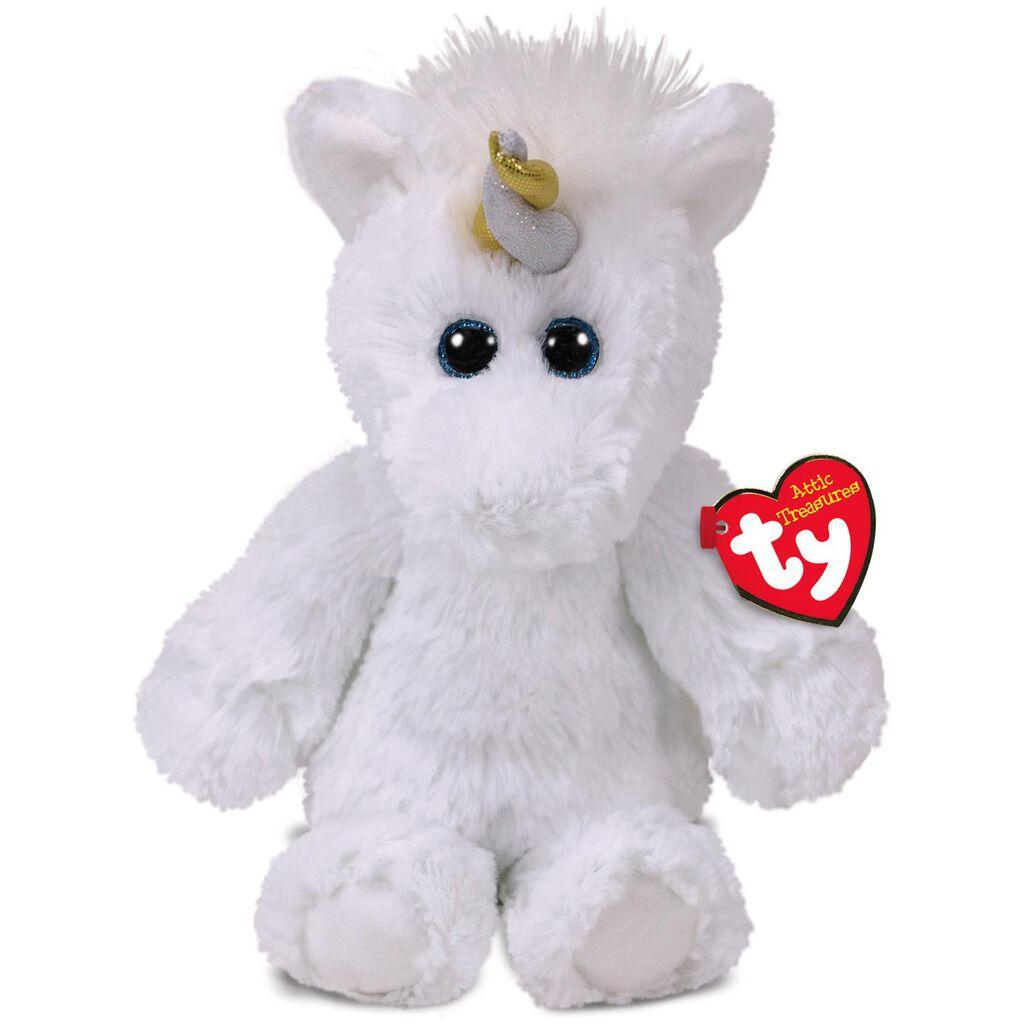 Ty® Attic Treasures Medium Agnus Unicorn Stuffed Animal b01ef8be3e1