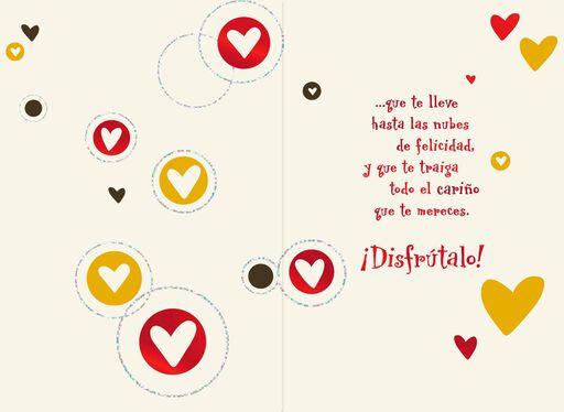 Joyful Hearts Spanish-Language Valentine's Day Card,
