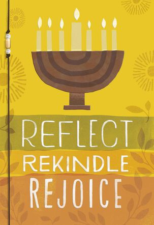 Reflect Rekindle Rejoice Kwanzaa Card