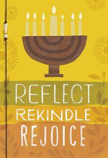 Reflect Rekindle Rejoice Kwanzaa Card,