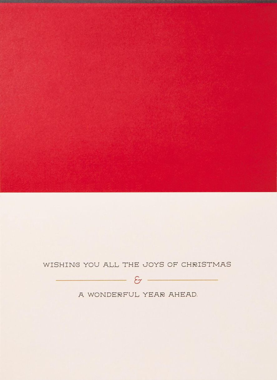 Merry and Bright Christmas Card - Greeting Cards - Hallmark