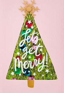 Let's Get Merry Christmas Card,