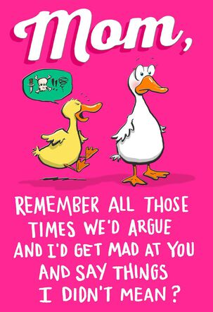 Grateful Duck Mother's Day Card