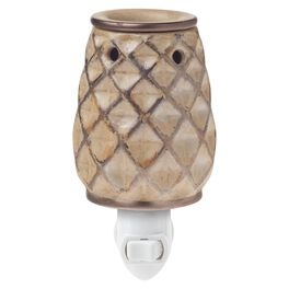 Crafters & Co. Woven Bronze Plug-in Wax Warmer, , large