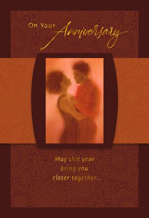 Friendship, Beauty and Bliss Anniversary Card for Couple