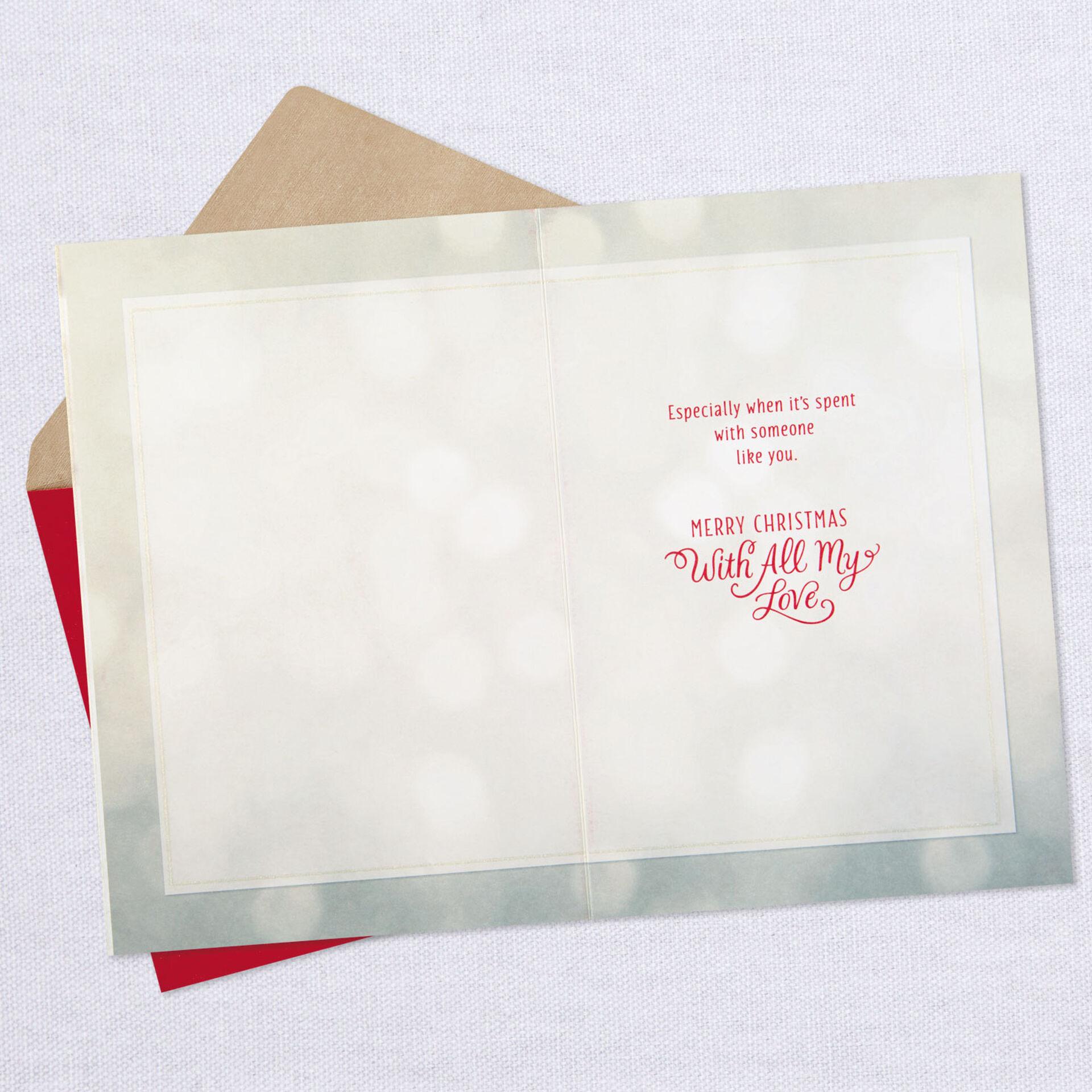 Hallmark Greeting Cards New w// Envelope Beautiful Card on Love