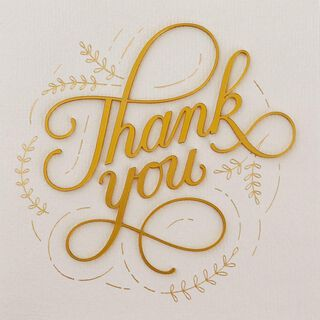 So Very Much Thank You Card,