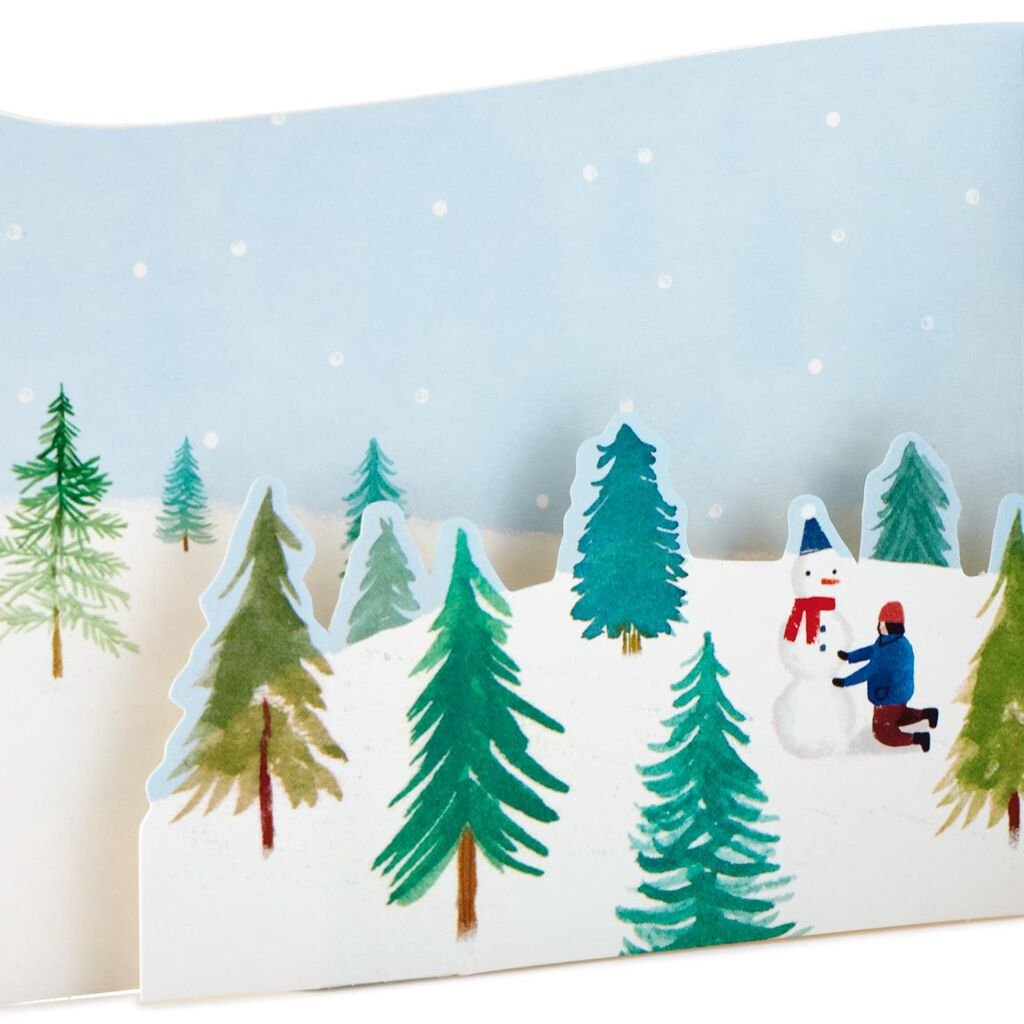 Christmas Tree Farm Hope Its Perfect Mini Pop Up Christmas Card