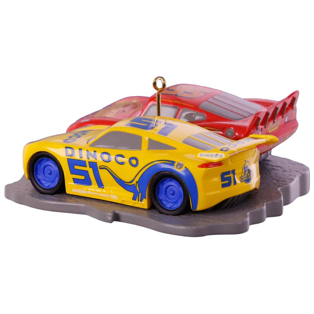 disney pixar cars 3 lightning mcqueen and cruz ramirez ornament