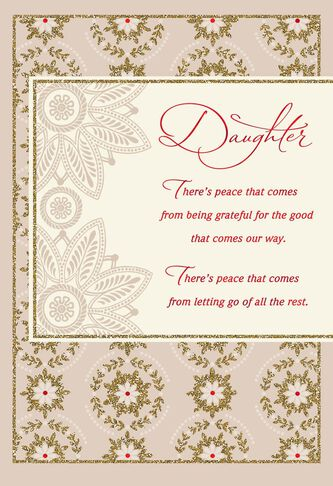 Wishes for peace daughter christmas card greeting cards hallmark wishes for peace daughter christmas card m4hsunfo
