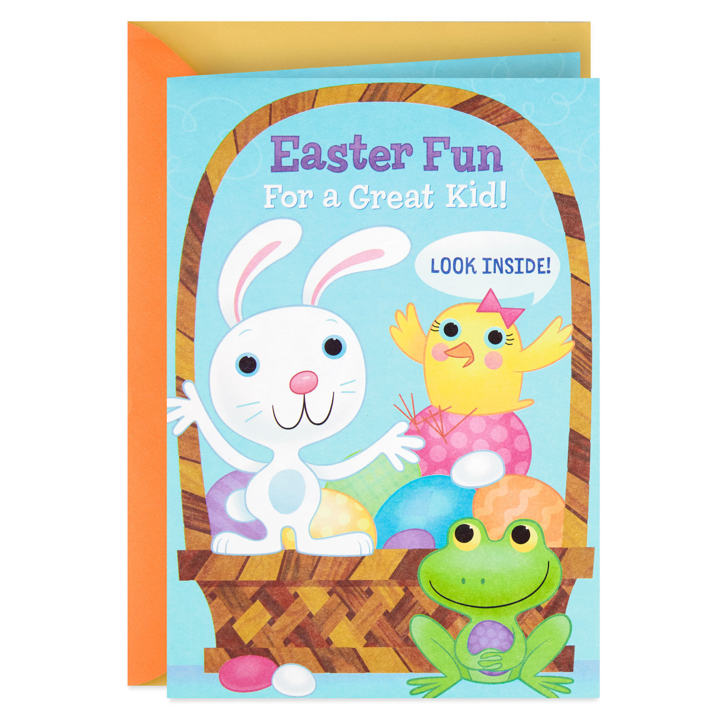 Hallmark Signature Easter Card for Kids Stickers and Coloring Activity