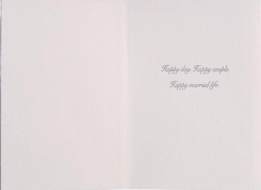 Tux and Dress Wedding Card,