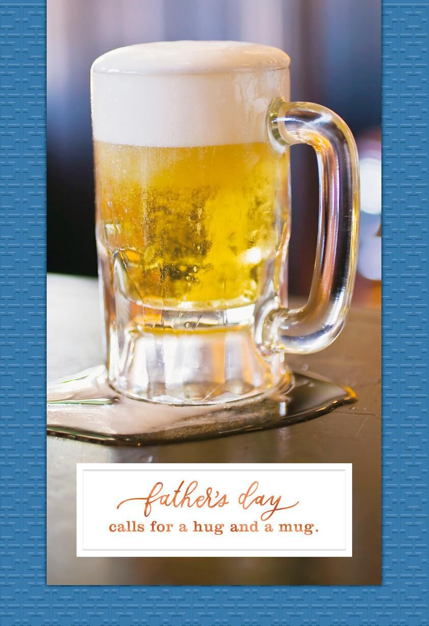 Beer Mug Father S Day Card Greeting Cards Hallmark