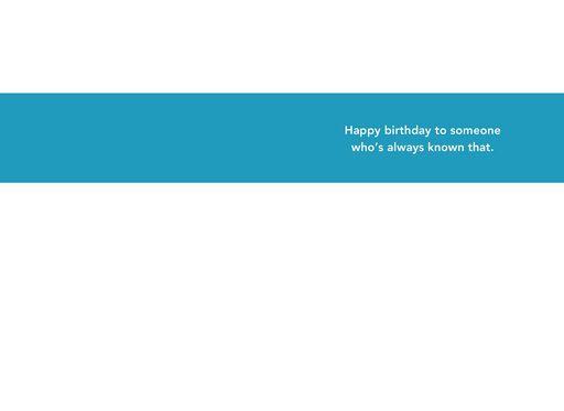 Unique Style Funny Birthday Card,