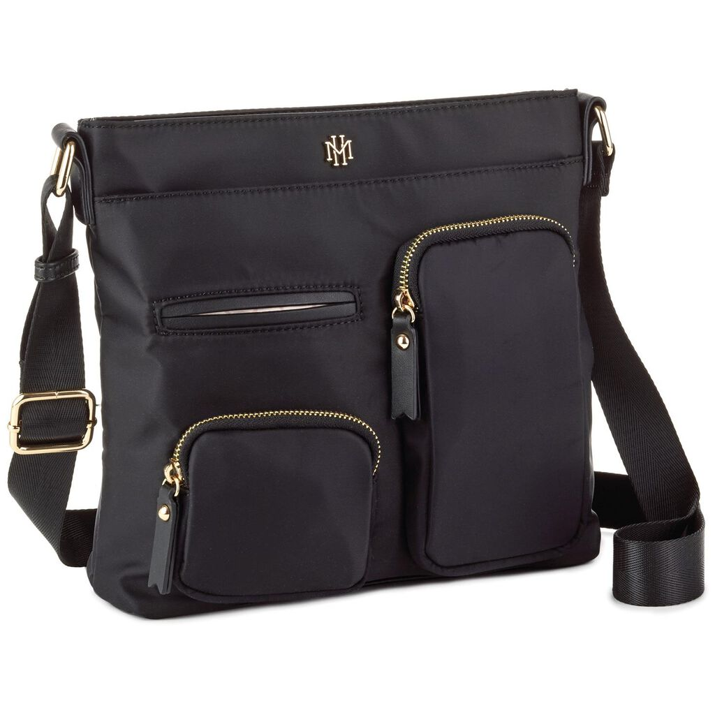 a9a3df66000 Mark   Hall Black Messenger Purse - Handbags   Purses - Hallmark