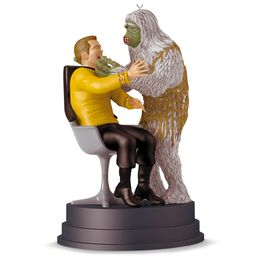 "STAR TREK™ ""The Man Trap"" Kirk and Salt Monster Ornament With Sound, , large"