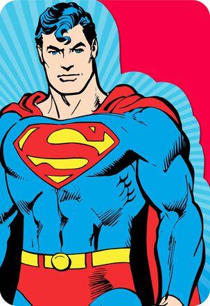 Superman™ Mega-Awesome Birthday Card