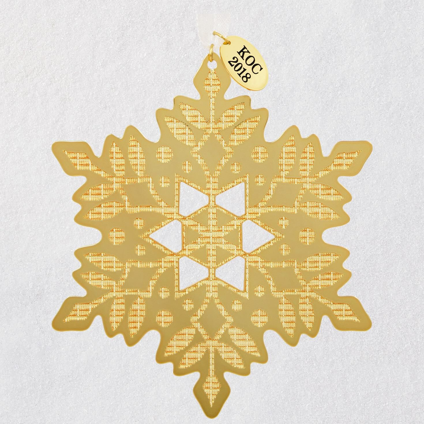 A Glistening Gift For You Snowflake Exclusive Ornament Keepsake