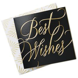 Best Wishes Gift Tag With Envelope, , large