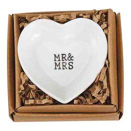 Mud Pie® Heart-Shaped Wedding Ring Dish, , large