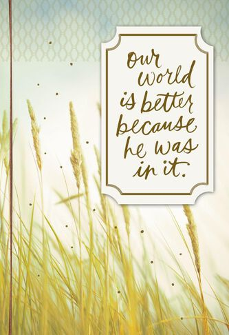 Wheat field loss of son sympathy card greeting cards hallmark wheat field loss of son sympathy card thecheapjerseys Gallery