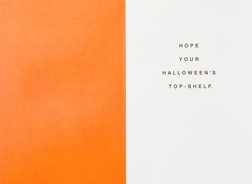 Pass the Boos Halloween Card,