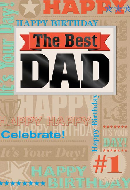The Best Dad Birthday Card Greeting Cards Hallmark