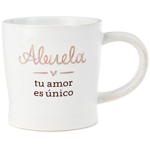 f03895b0430 Grandma, Your Love Is Unique Spanish-Language Mug, 12 oz., ...