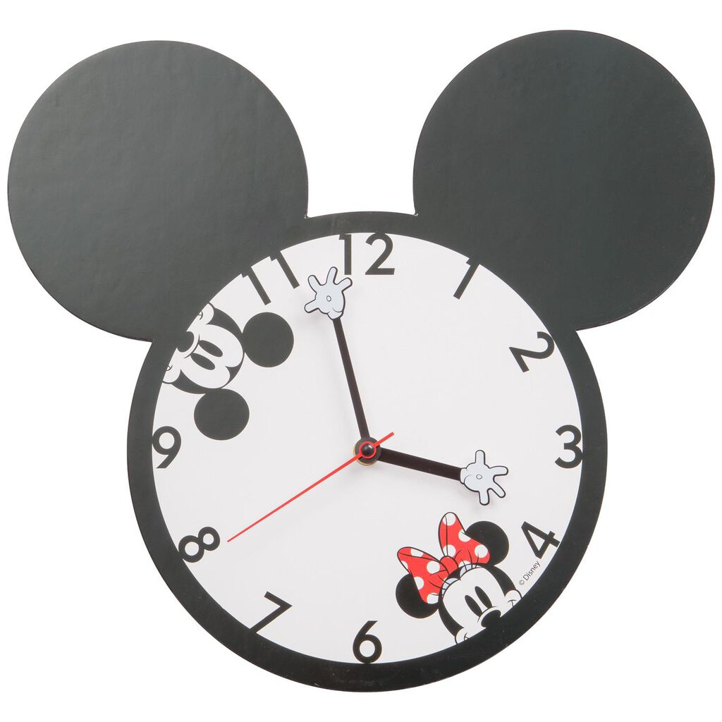 Disney Mickey Mouse Silhouette Wall Clock