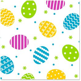 Easter Egg Cellophane Wrapping Paper Roll, 20 sq. ft., , large