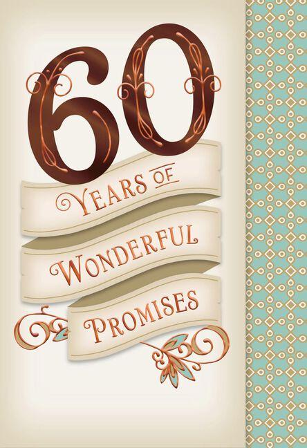 Wonderful promises 60th anniversary card greeting cards hallmark wonderful promises 60th anniversary card m4hsunfo