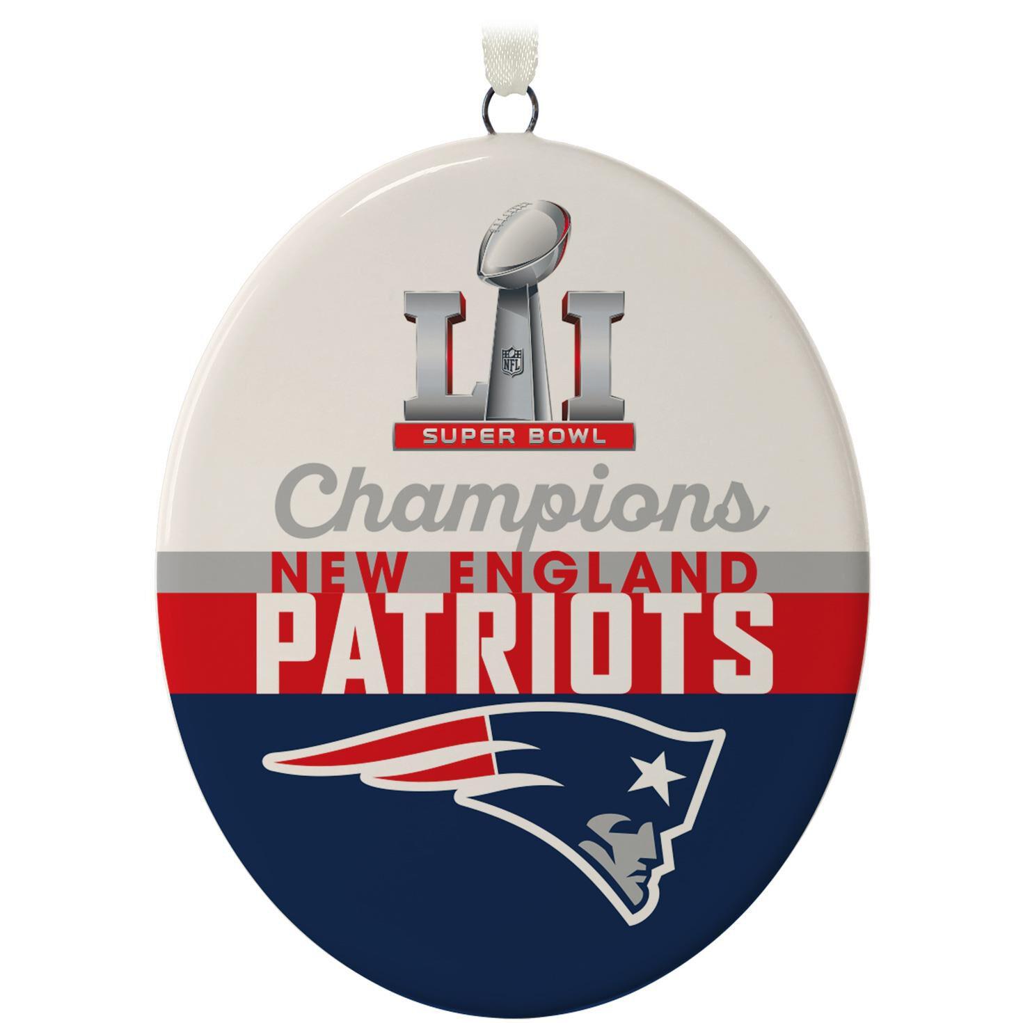 New England Patriots Super Bowl LI Commemorative Ornament ...