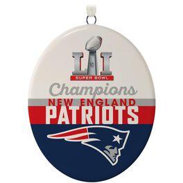 New England Patriots Super Bowl LI Commemorative Ornament, , large